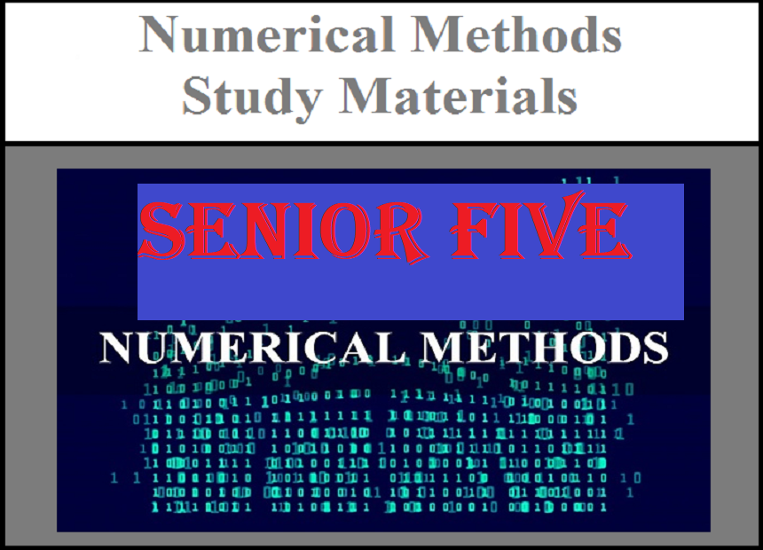 Numerical methods senior five