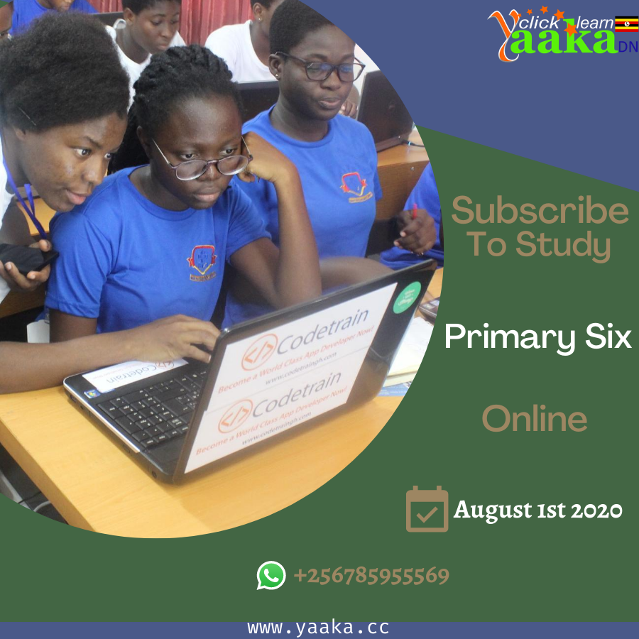 Subscribe For primary Six Classes Online