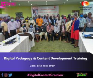 E-learning training of BRAC teachers